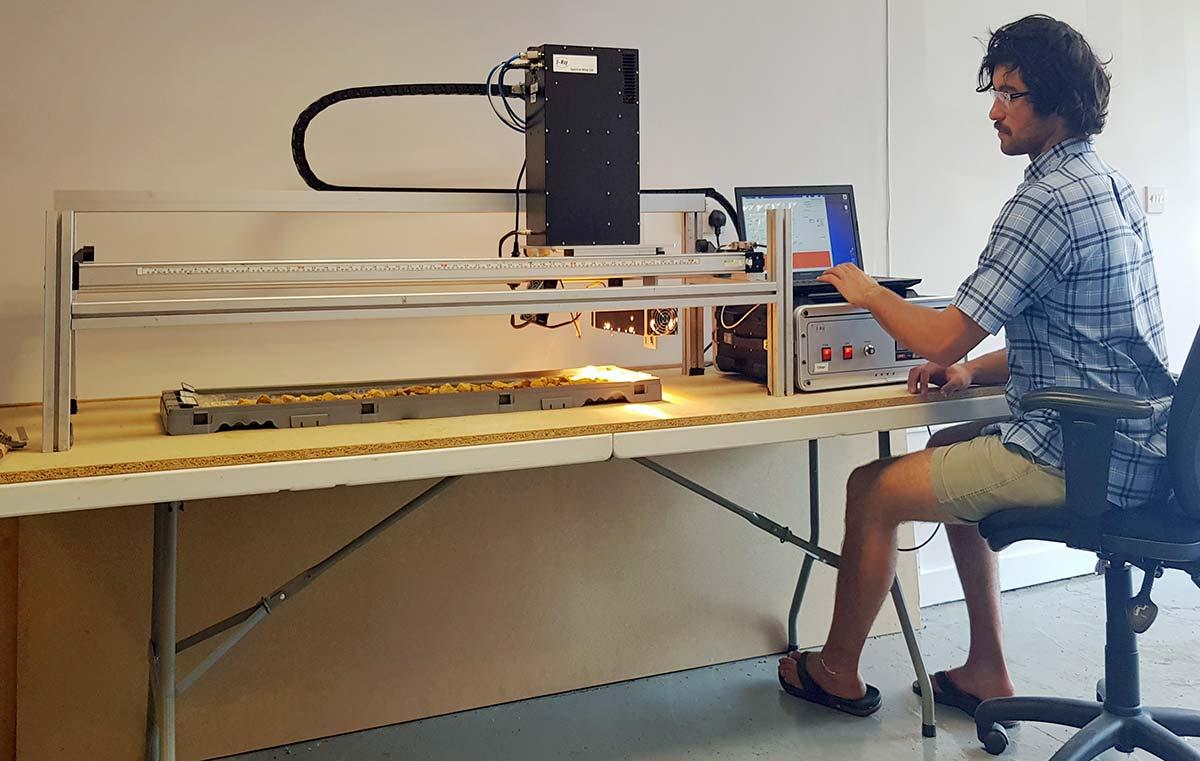SpecCam IR Imaging Spectrometer